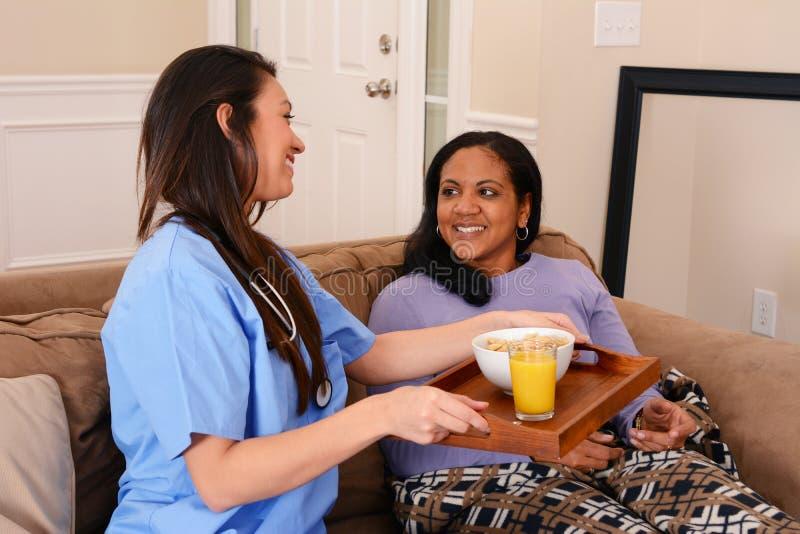 Domowa opieka zdrowotna zdjęcie stock
