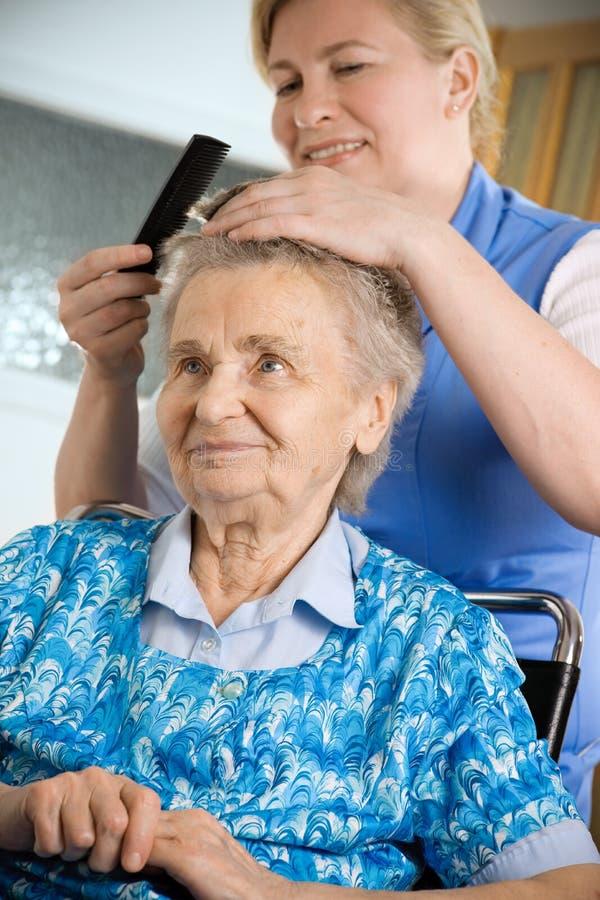 domowa pielęgnacja zdjęcie stock
