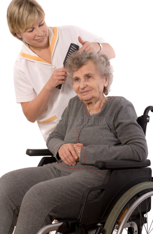 domowa pielęgnacja fotografia stock