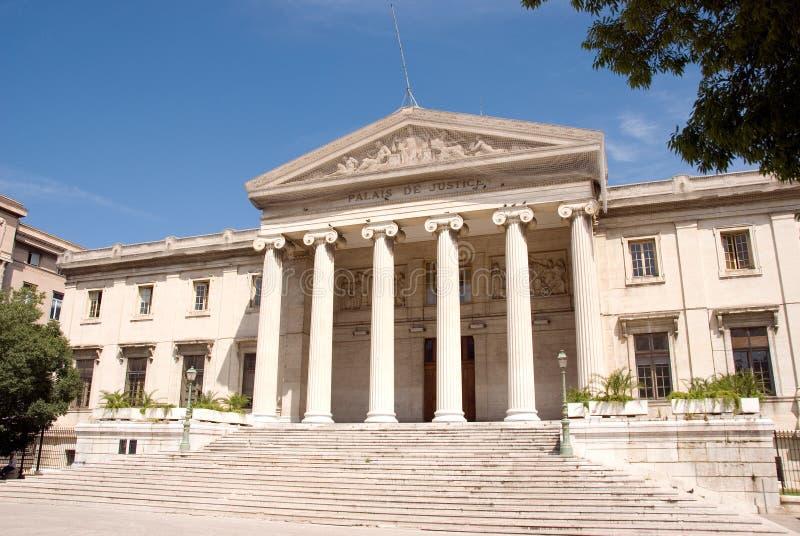 domowa sprawiedliwość Marseilles fotografia stock
