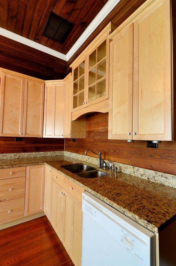 domowa wewnętrzna kuchnia obrazy stock