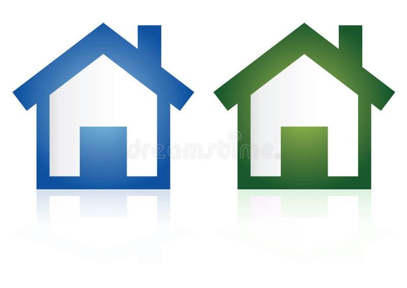 domowe ikony ilustracji