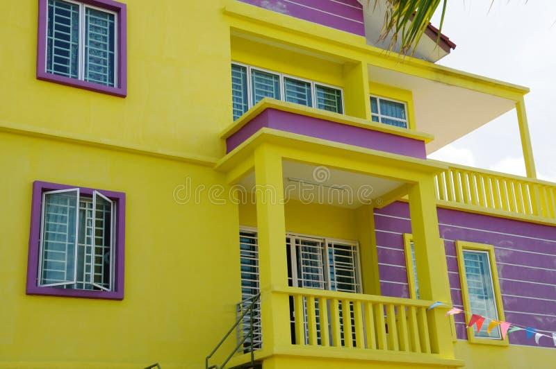 Domowego Szczegółu Żółty TARGET149_0_ zdjęcia stock