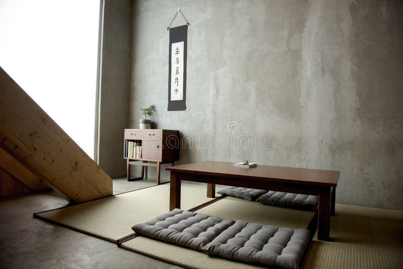 Domowego wystroju Japoński historyczny styl zdjęcia royalty free