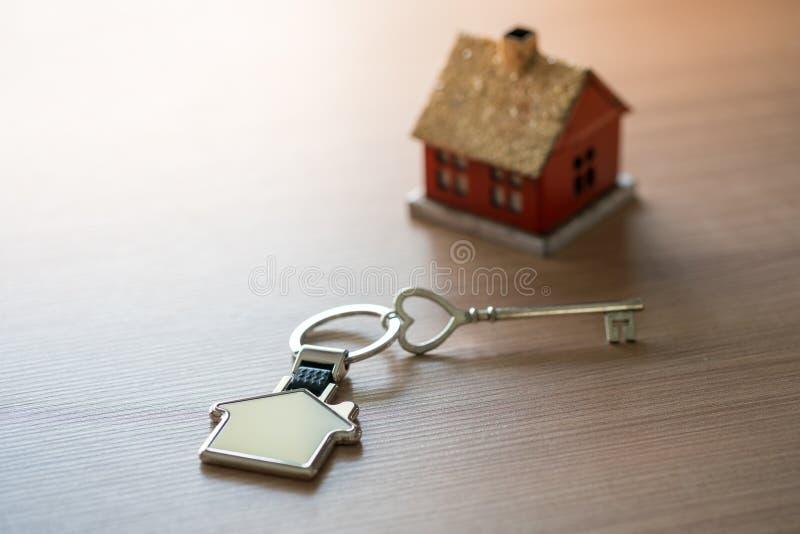 Domowej & lokalowej nieruchomości pojęcie z projektem obraz royalty free