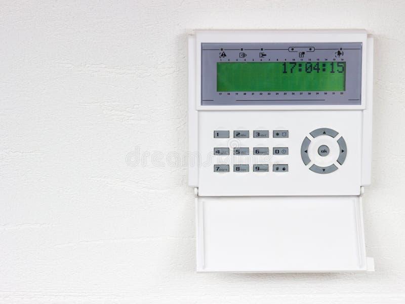 Domowej ochrony alarmowy system fotografia stock
