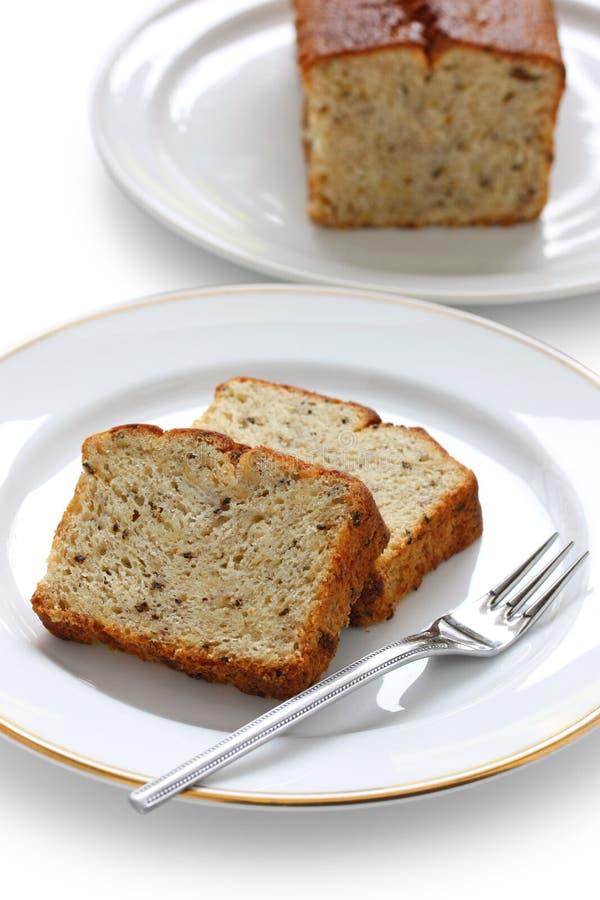 domowej roboty bananowy chleb zdjęcia royalty free