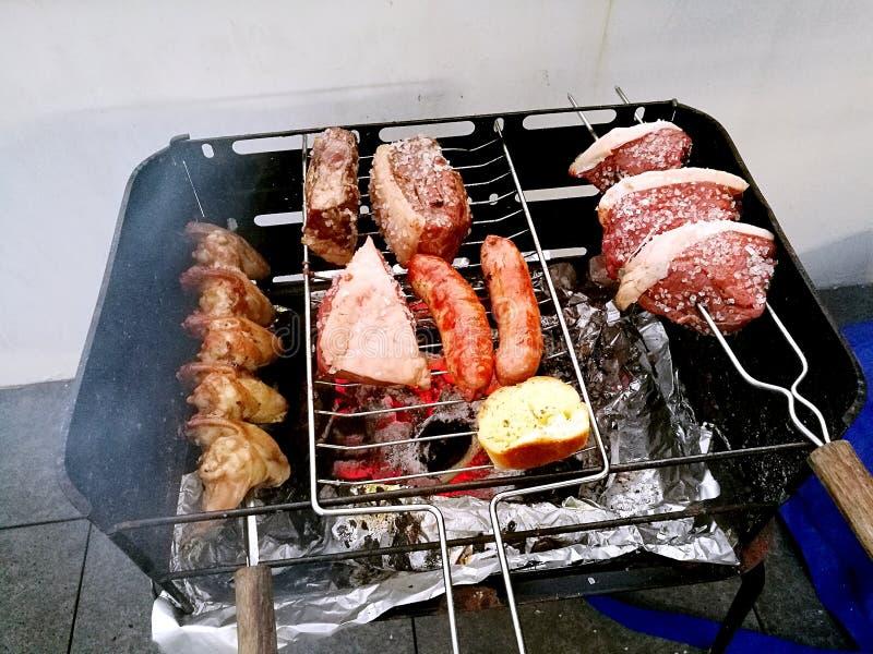 Domowej roboty brazylijczyka BBQ fotografia stock