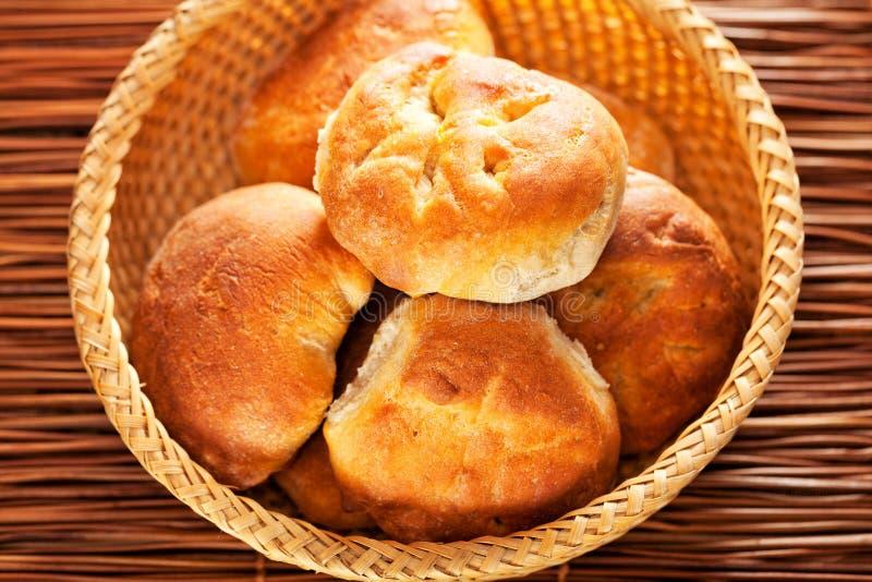 Domowej roboty mali chleby obrazy royalty free