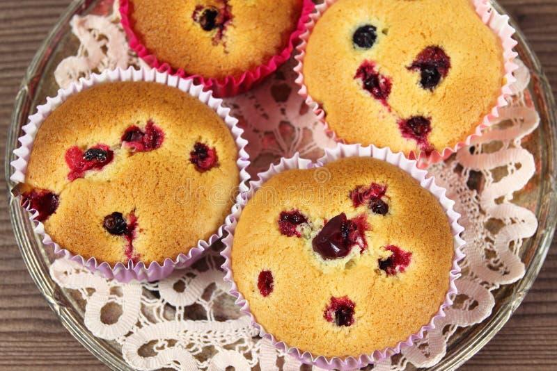 Domowej roboty muffins zdjęcia stock