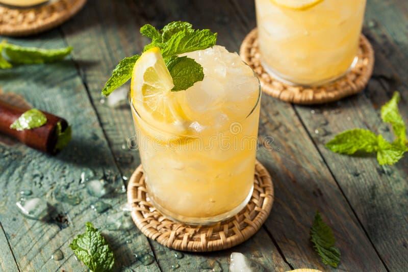 Domowej roboty Pijacki bourbonu whisky roztrzaskanie fotografia royalty free
