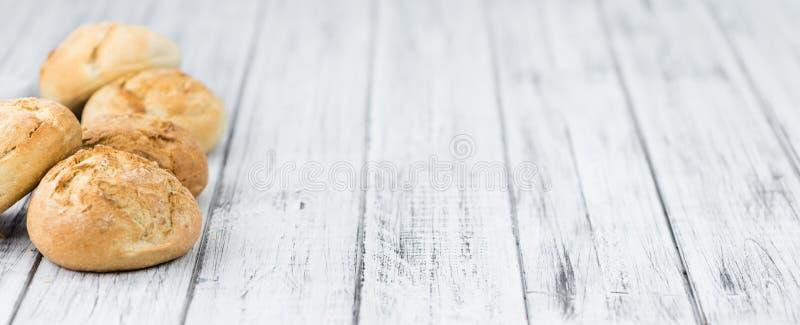 Domowej roboty rolki niemiec styl zdjęcia stock