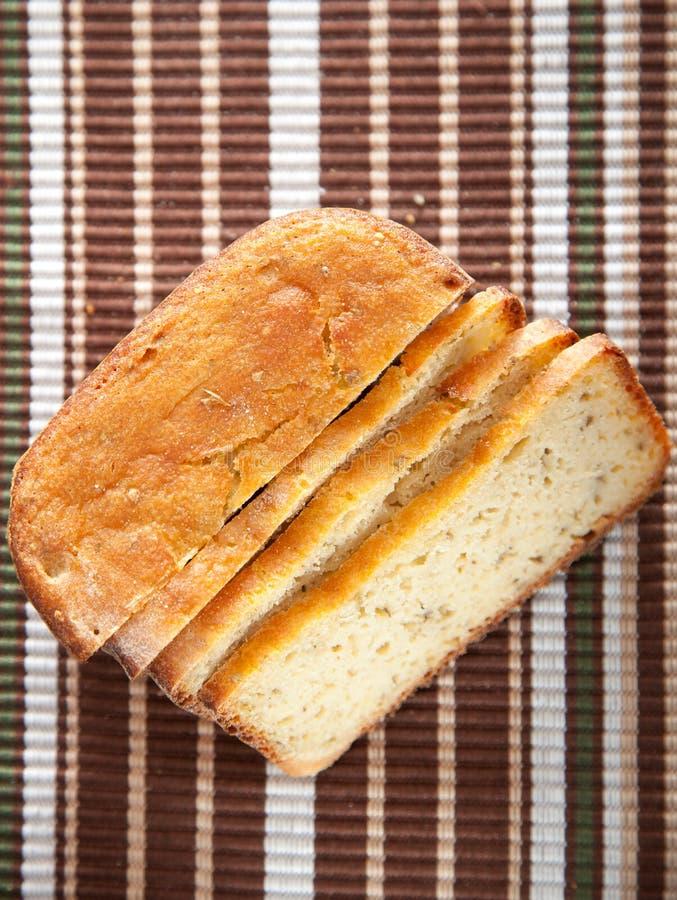 Domowej roboty ryżowy chleb obraz royalty free