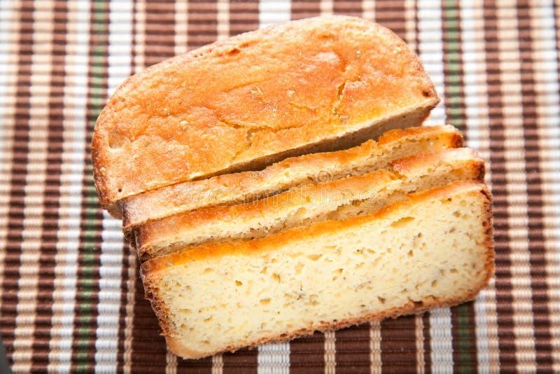 Domowej roboty ryżowy chleb fotografia stock