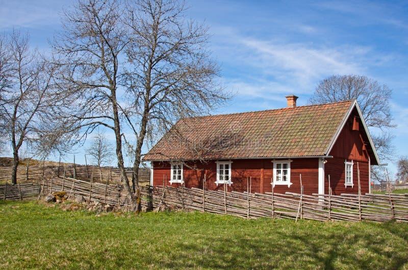 domowi idylliczni szwedzi obrazy royalty free