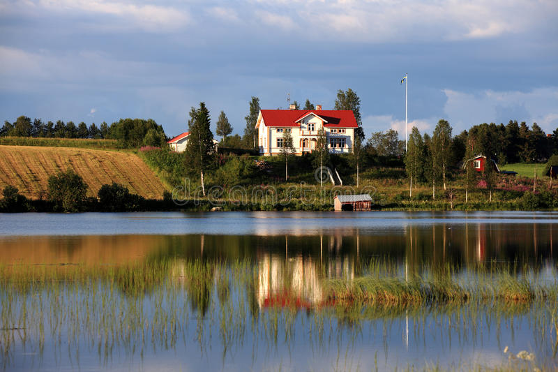 domowi szwedzi zdjęcie stock