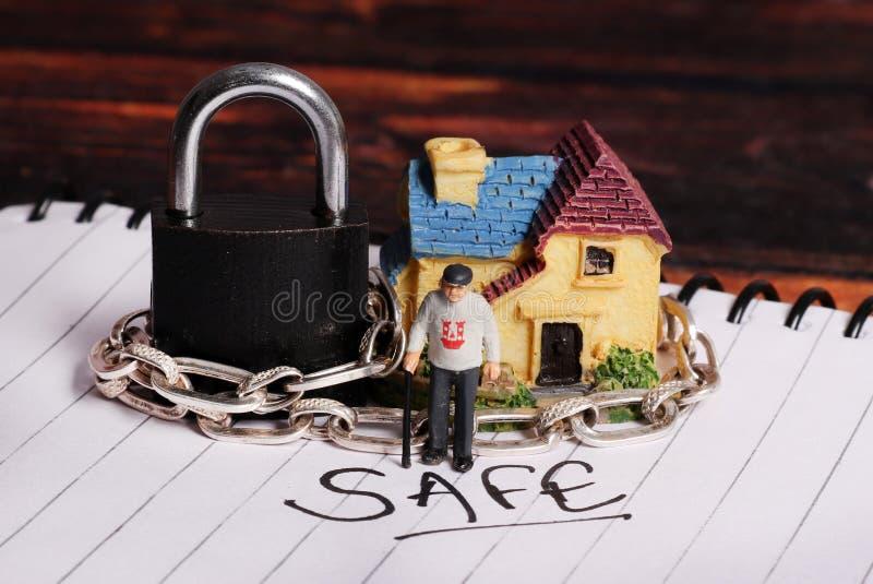 Domowy bezpieczeństwo zdjęcie royalty free