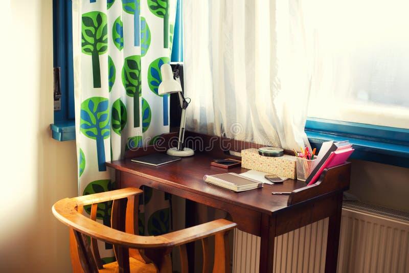 Domowy biurko zdjęcie stock
