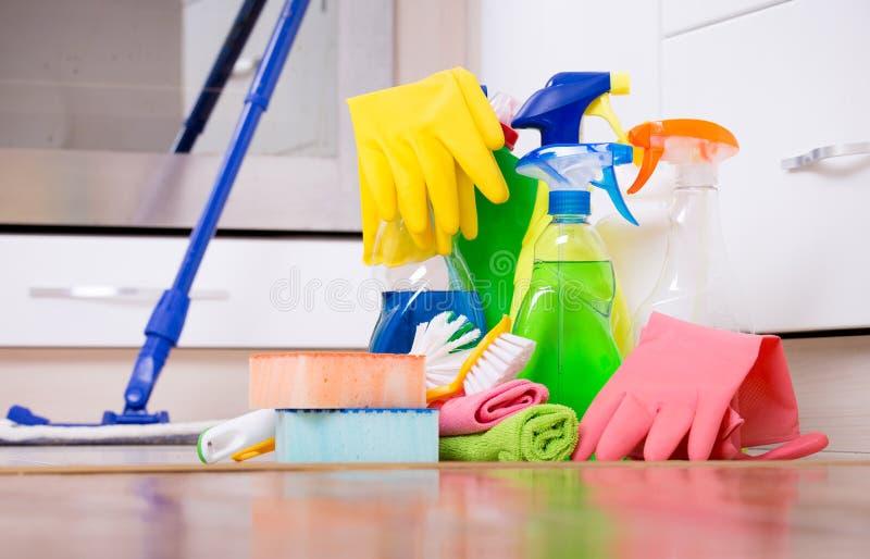 Domowy cleaning pojęcie fotografia royalty free