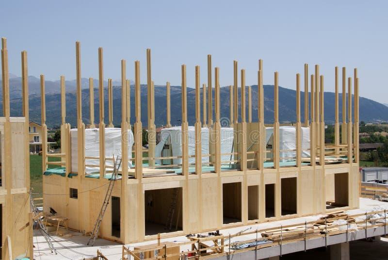 domowy costruction drewno zdjęcie stock