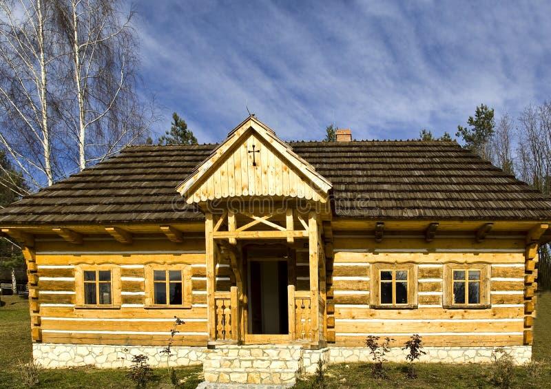 domowy drewniany fotografia royalty free
