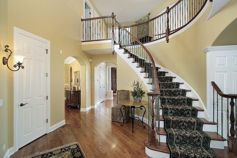 domowy foyeru luksus obrazy stock