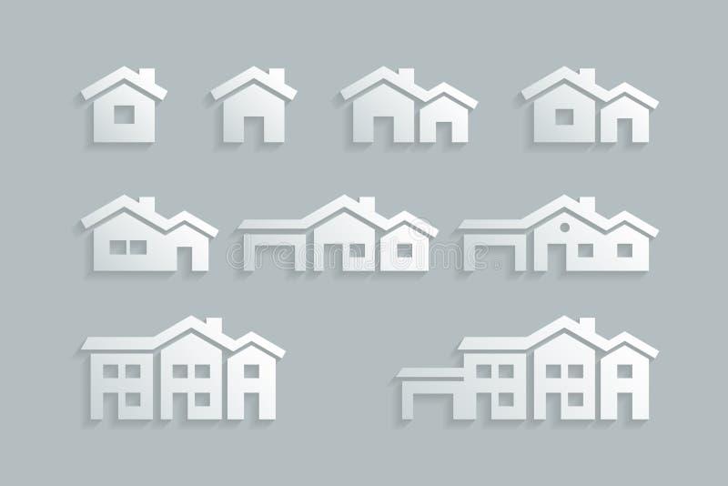 Domowy ikona set
