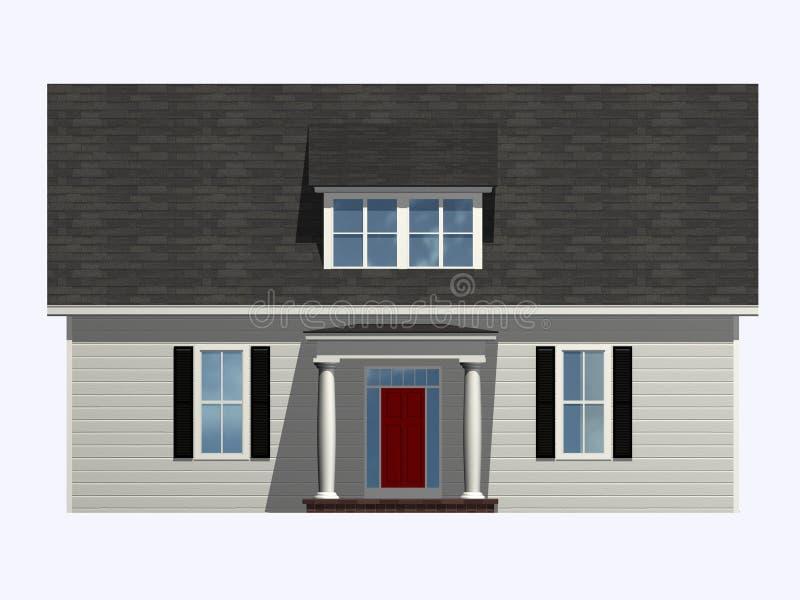 domowy isometric royalty ilustracja