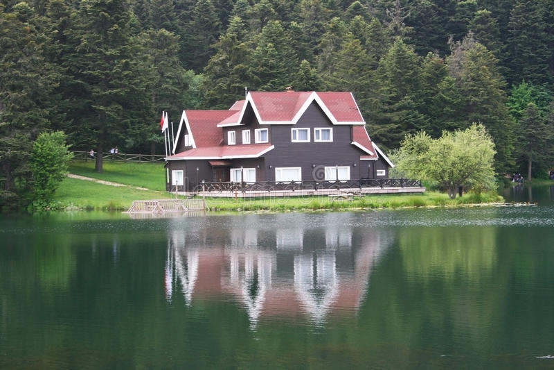 domowy jezioro zdjęcie stock