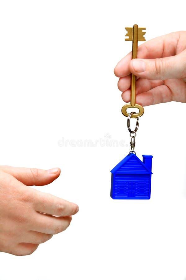 Domowy klucz zdjęcia royalty free