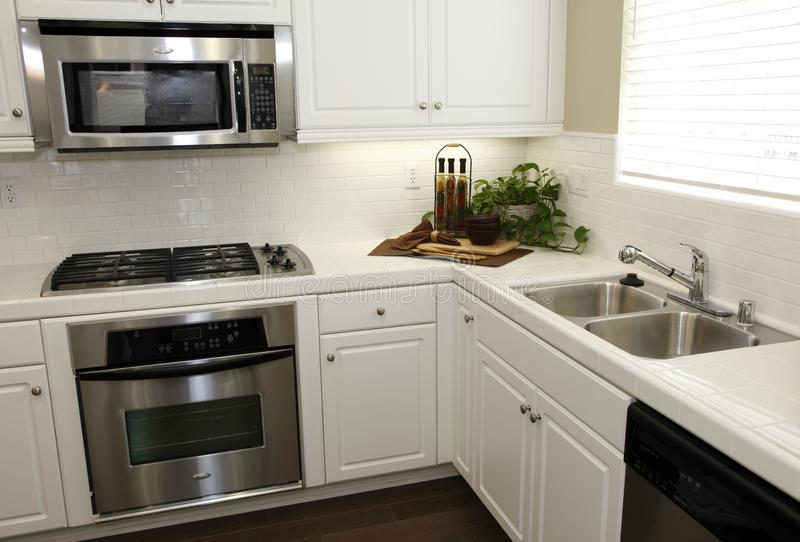domowy kuchenny luksus zdjęcie stock
