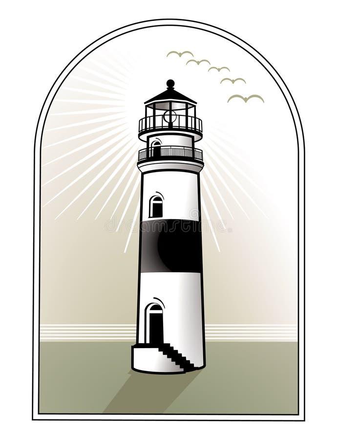domowy lekki logo ilustracja wektor