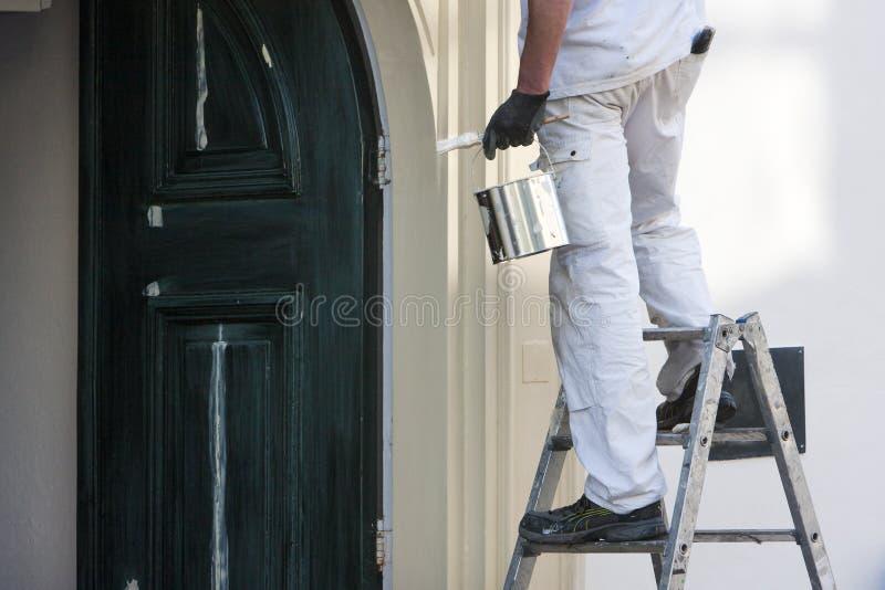 Domowy malarz obrazy stock