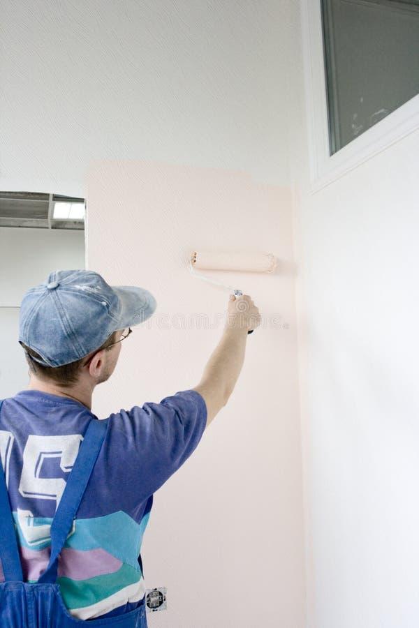 domowy malarz zdjęcia stock