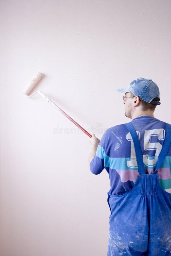 domowy malarz zdjęcie stock