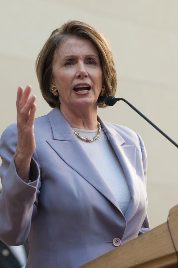 domowy Nancy pelosi mówca zdjęcie stock