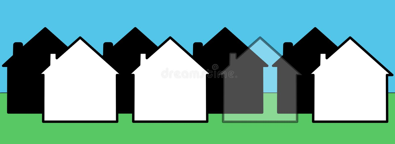domowy niewidzialny ilustracji