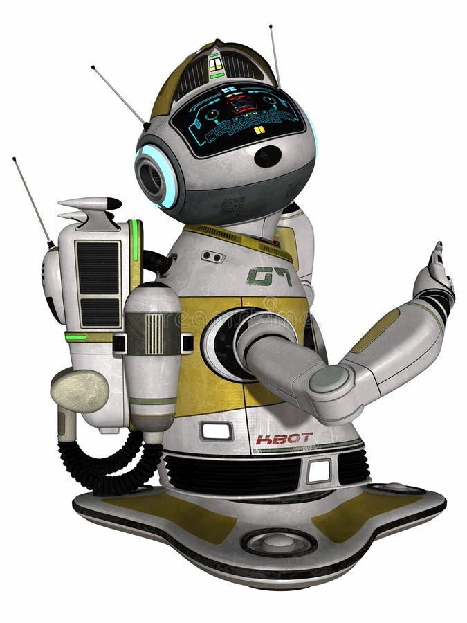 domowy nowożytny robot ilustracja wektor