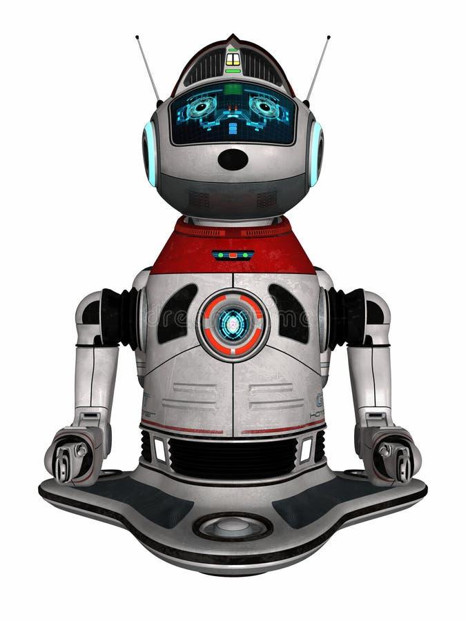 domowy nowożytny robot royalty ilustracja