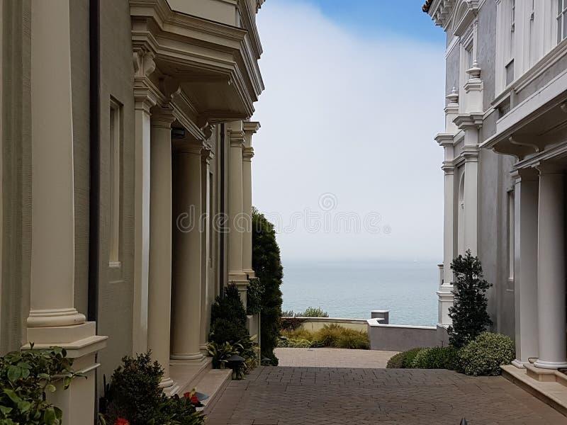 Domowy ocean San Francisco zdjęcie stock