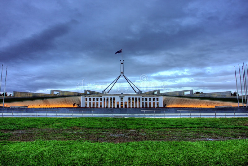 domowy parlament obraz stock