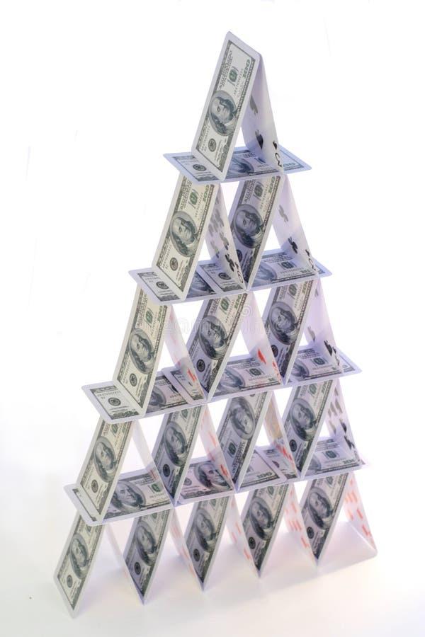 domowy pieniądze fotografia stock