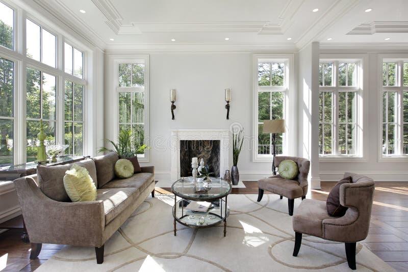 domowy pralniany luksusowy pokój zdjęcia royalty free