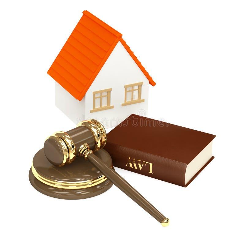 domowy prawo ilustracja wektor