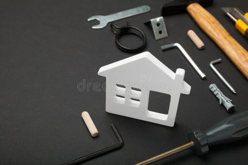 Domowy remontowy poj?cie, robi mi? Od?wie?anie, budowa obraz stock