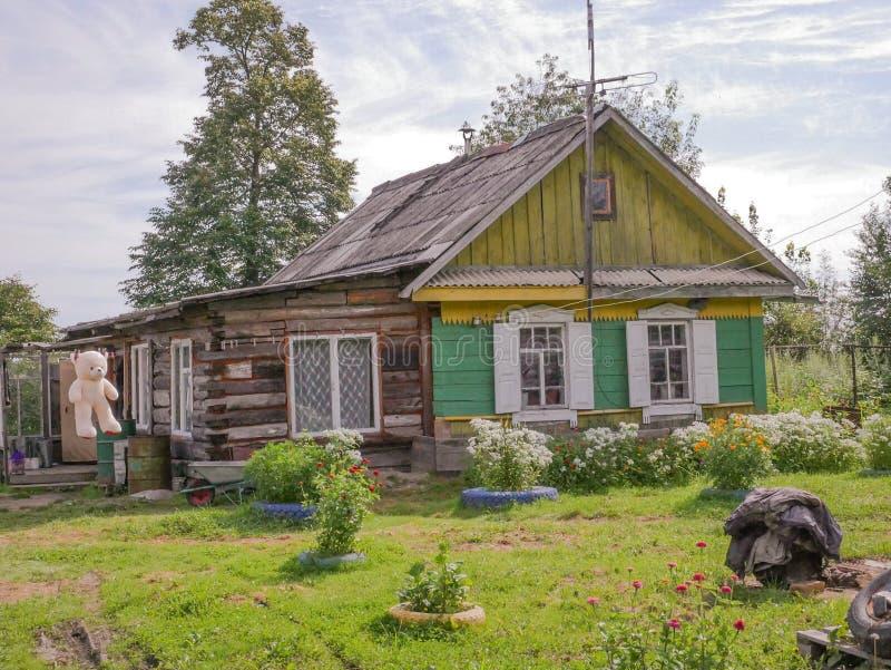 Domowy rosyjski daleki wschód obraz stock