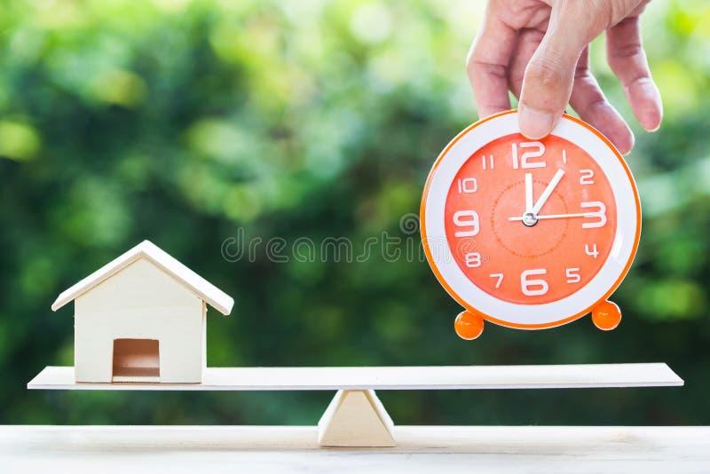 Domowy tranzakcja, nieruchomość, pożyczka, domowy pożyczkodawca odwrotności hipoteki pojęcie obrazy stock