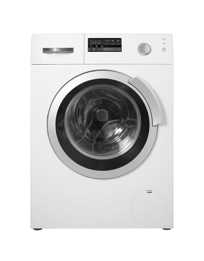 Domowy urządzenie - pralka odosobniony zdjęcie royalty free