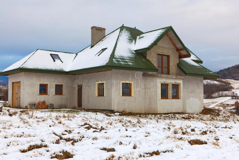 Domowy w budowie zdjęcia royalty free