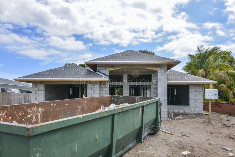 Domowy w budowie zdjęcie royalty free